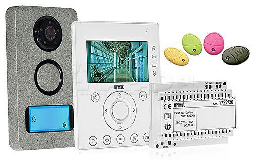 wideodomofonowy zestaw